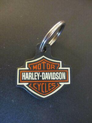 son Bar & Shield Rubber Key Chain Motor City Harley Michigan (Rubber City Harley)