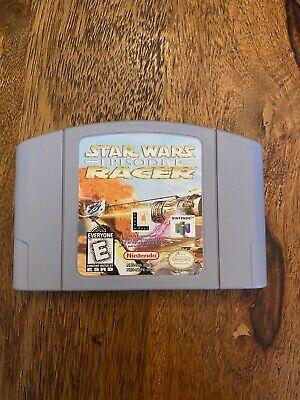Star Wars Episode I Racer Nintendo 64 N64 Genuine OEM Authentic
