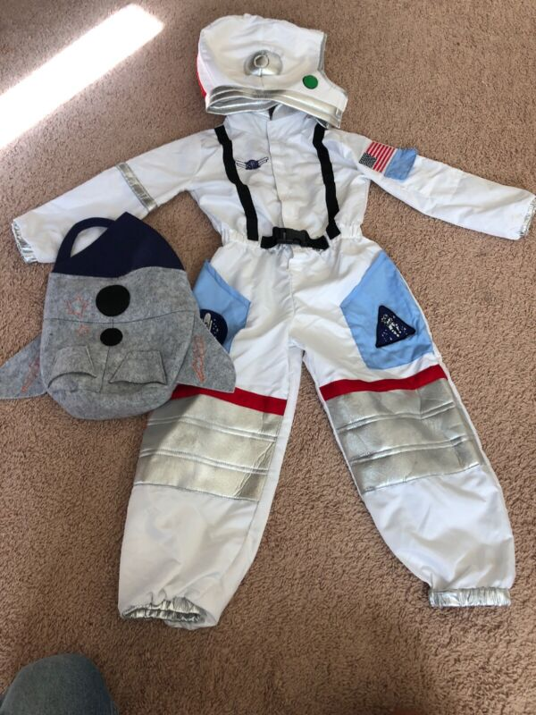 Pottery Barn Kids Astronaut Costume 4-6