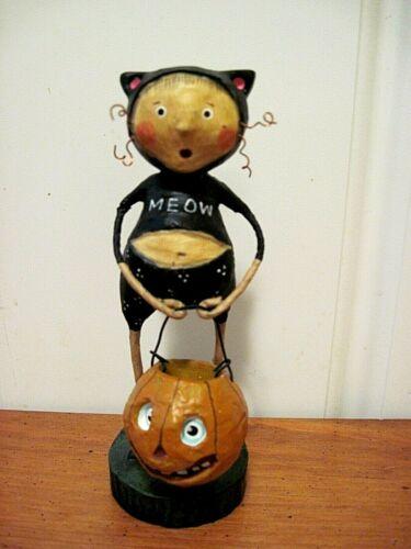 ESC Lori Mitchell NEW Halloween Fraidy Cat Figure