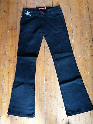 Dachbodenfund Schwarze Frauen Jeans, D.S.N jeans (dada supreme xxx) Gr.30 online kaufen