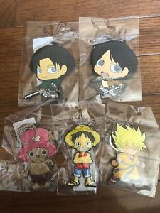 ANIME KEYCHAIN LOT