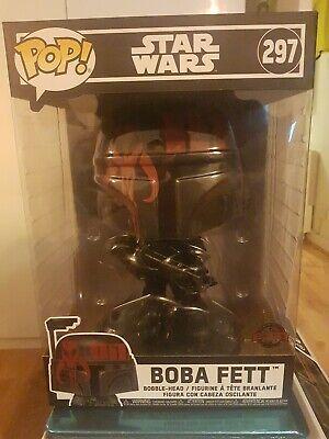 Christmas gift FUNKO POP! VINYL STAR WARS SPECIAL EDITION BOBA FETT #297