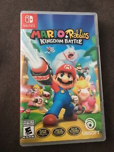 Nintendo Switch Mario+Rabbids Kingdom Battle
