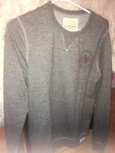 men's roots sweater