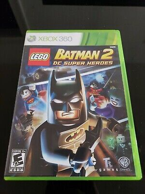 LEGO Batman 2: DC Super Heroes (Microsoft Xbox 360, 2012) Complete With Manual