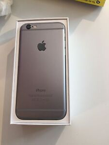 Mint condition iphone 6 16g with bell 320$ FIRM