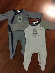 Purebaby and Bebe Size 00 winter onesies Hamilton Brisbane North East Preview