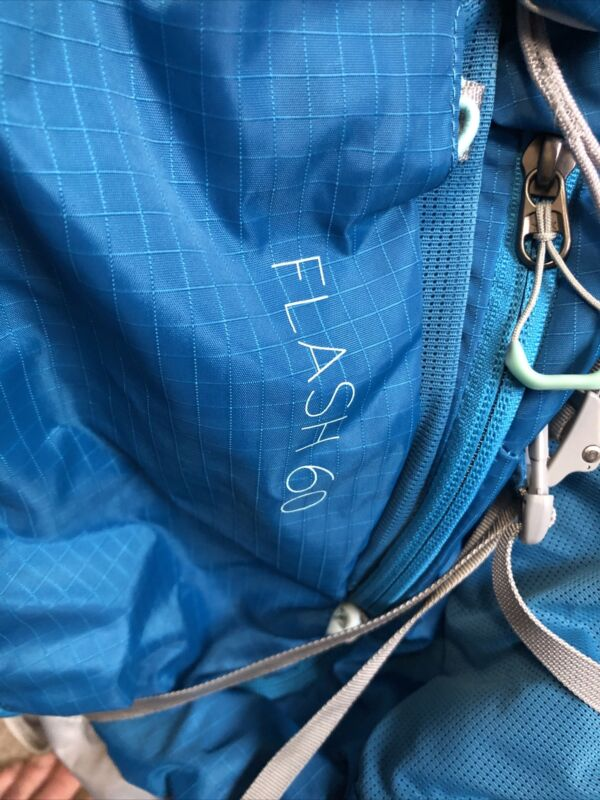 Backpacking Pack - Flash 60L women's Size XS.