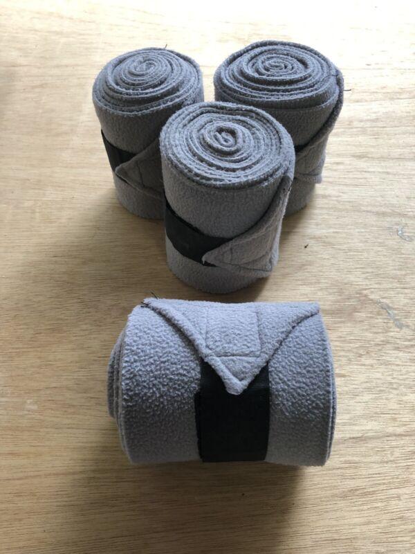 Set Of 4 Polo Wraps- Grey