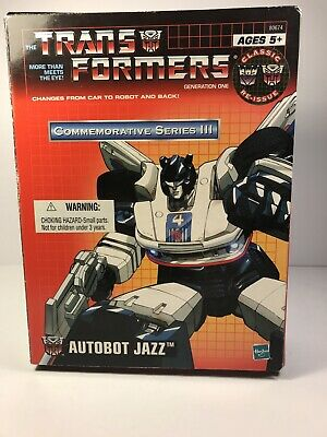 Hasbro Transformers Commemorative Series III - Autobot Jazz (2002)