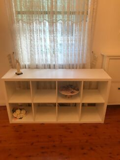 White ikea bookcase / shelves storage