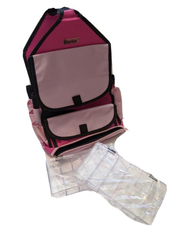 Darcie Pink Craft Organization Carrier