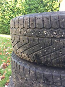 Roue bmw et pneu 17po