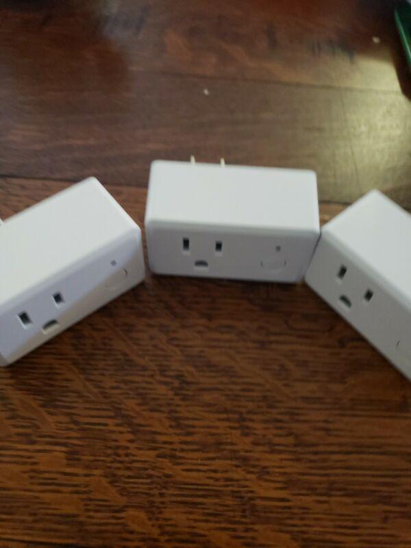 Feit Electric Wifi Smart Plug 3 Pack Works With Alexa, Siri & Google Home USED