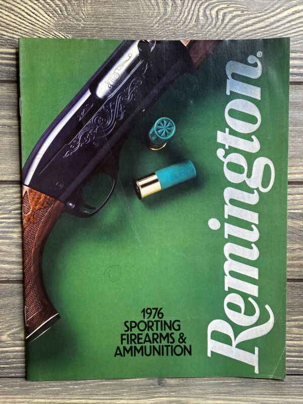 Vintage Remington Catalog 1976 Sporting Firearms And Ammunition