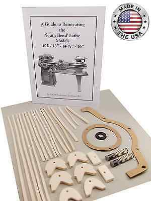 South Bend Lathe 16 - Rebuild Manual And Parts Kit All Models