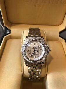 BREITLING LADY COCKPIT ACIER DIAMOND WATCH Claremont Nedlands Area Preview