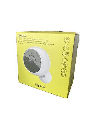 Logitech 961000416 Circle 2 Wireless Security Camera - White