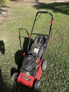 Baumr AG Self propelled lawn mower.