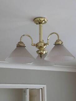Art deco chandelier gumtree australia free local classifieds art deco chandelier pendant light mozeypictures Images