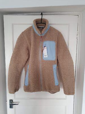 Uniqlo x J.W. Anderson Windproof Fleece Lined Full-Zip Jacket Beige - XS