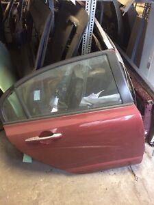 Acura CSX Rear Door - Passenger