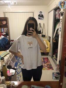 Vintage White Oversized Shiba T-shirt