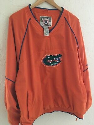 Florida Gators Genuine Stuff Collegiate Windbreaker Pullover Jacket XXL - Florida Gators Stuff