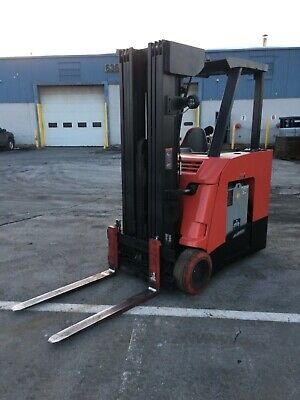 2013 Raymond Quad Forklift Dockstocker 4000 258lift Mn425 2015 Battery 36v