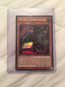 Spyral Super agent ultra rare yugioh TDIL-EN086 Ringwood North Maroondah Area Preview