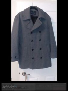 Kenneth Cole pea coat Jacket Medium Men's in like new condition London Ontario image 1