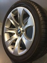 """BMW X5 M SPORT LIMITED EDITION 20"""" GENUINE ALLOY WHEELS AND TYRES Carramar Fairfield Area Preview"""