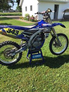 Yamaha yzf 450 2014