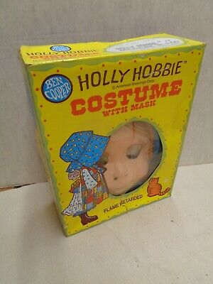 Holly Hobby Medium Vintage 1976 Halloween Costume in Box gently used hallmark