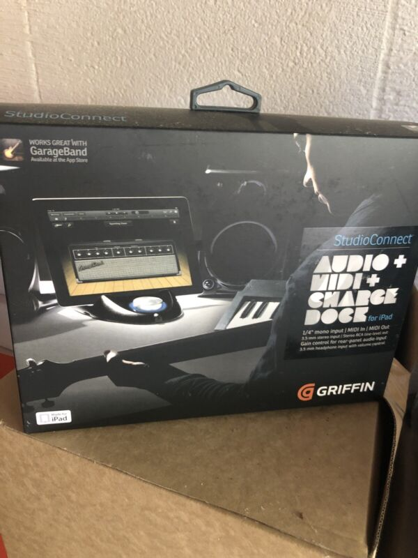Griffin Studio Connect Audio+Midi+Charge Dock For 30 Pin iPad