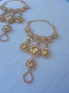 Crystal Foot Jewellery