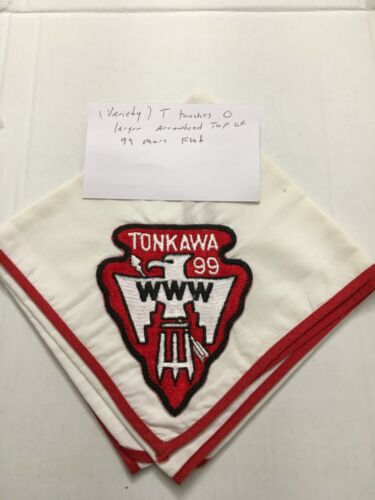 TONKAWA LODGE 99 VARIETY NECKERCHIEF (VERY DIFFERENT)
