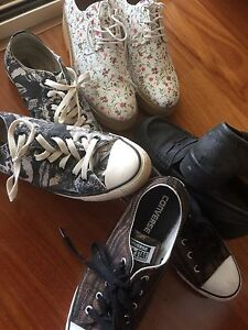 Womens shoes size 7 converse & miss shop Karalee Ipswich City Preview