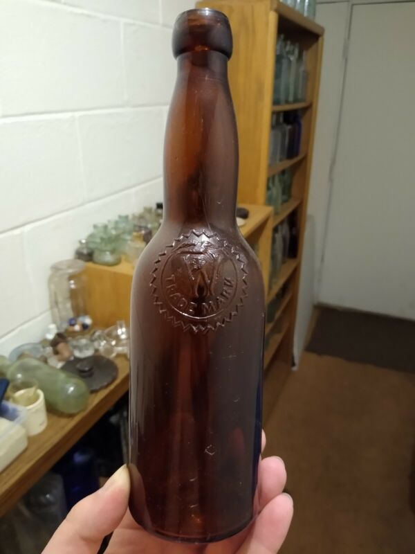 Antique Blob Top Weidmann Brewery Bottle From Newport Kentucky