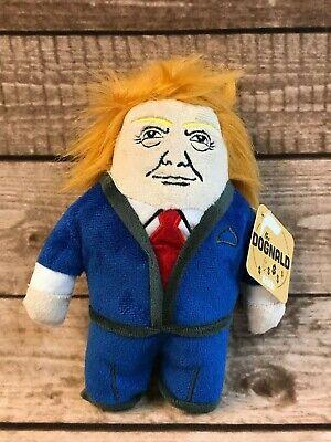 Donald Trump BarkBox Dog Toy DOGNALD with Squeaker