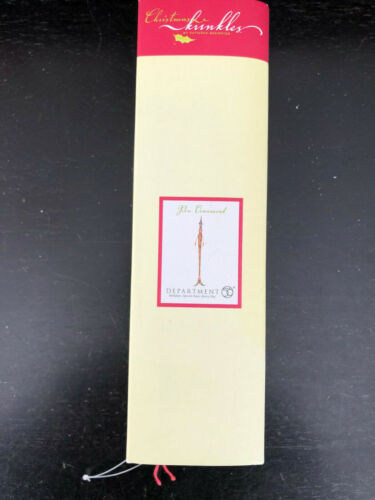 Krinkles FOUNTAIN PEN ORNAMENT * Patience Brewster * D56 * NEW