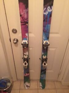 Twin tips skis