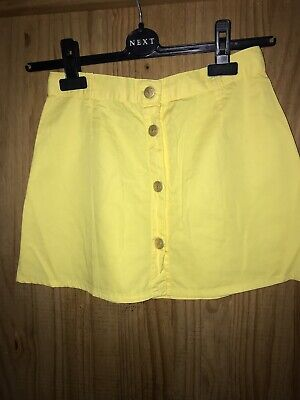 Girls Young Versace Skirt  Fits Age 12 Yellow