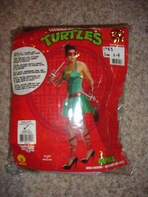 TMNT Raphael Raph Halloween Costume Adult women's size (S) 2/6 Rubies 887419