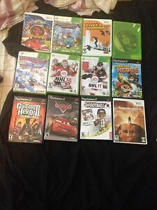 XBOX 360/ WII/ PS2 games