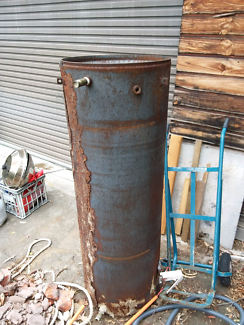Old hot water cylinder