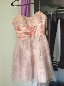 Le chateau pink grad dress
