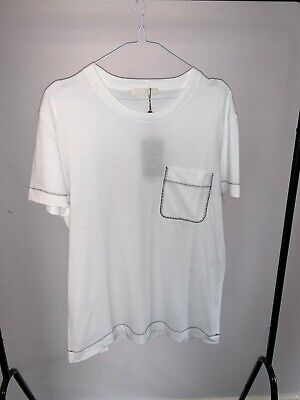 100% Authentic Alexander McQueen White T-shirt Men's Medium