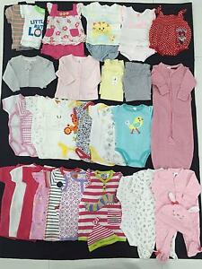 Girls Size 000 - Brand New - Clothing Bundle (x34) Woodville Charles Sturt Area Preview